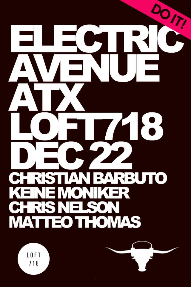 ELECTRIC AVENUE @ LOFT718
